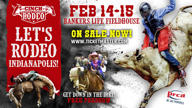 February 14 & 15 – Cinch World's Toughest Rodeo