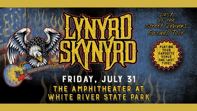 July 31 – Lynyrd Skynyrd