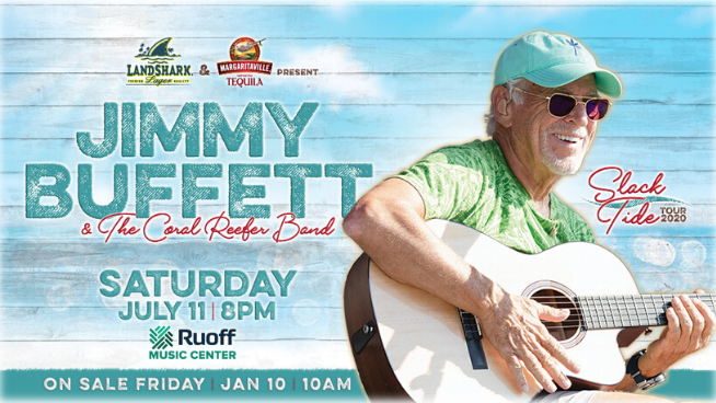 July 11 – Jimmy Buffett And The Coral Reefer Band