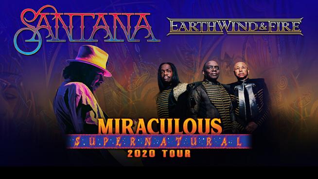 July 10 – Santana & Earth, Wind and Fire