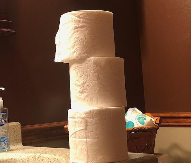 Florist Is Delivering Bouquets Made Of… A Dozen Rolls Of Toilet Paper?!
