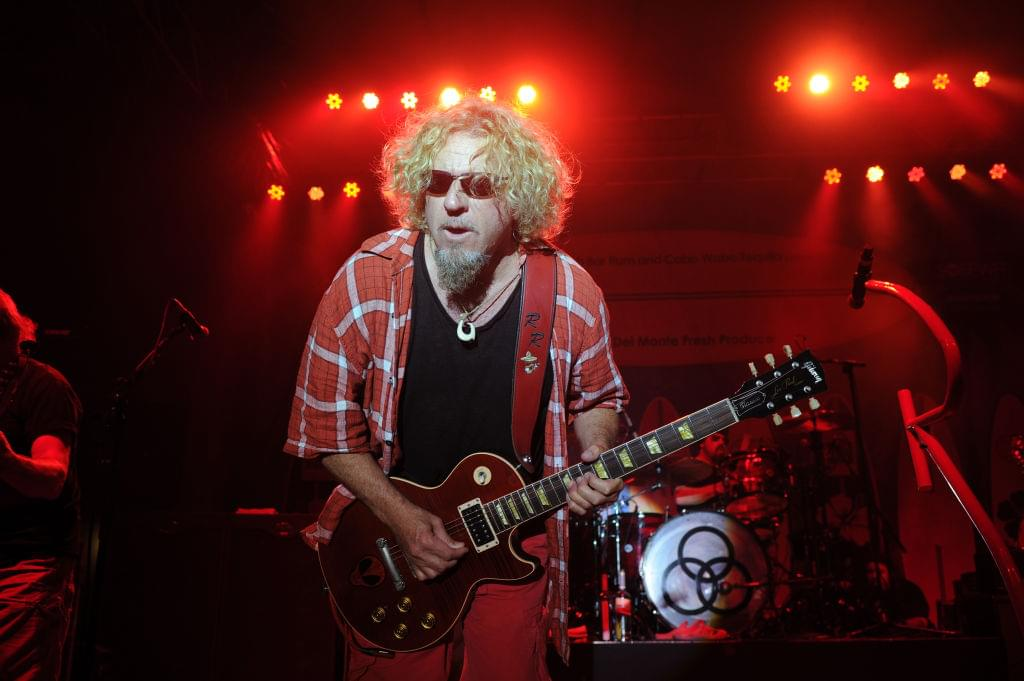 "Sammy Hagar Covers ""Won't Get Fooled Again"" During 'Lockdown Session'"