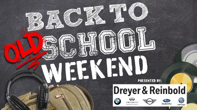 Back To Old School Weekend