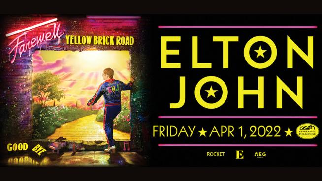 April 1, 2022 – Elton John NEW DATE