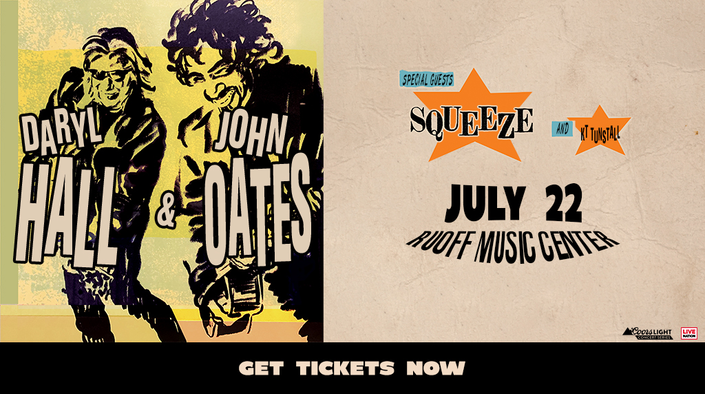 August 19 – Daryl Hall & John Oates NEW DATE