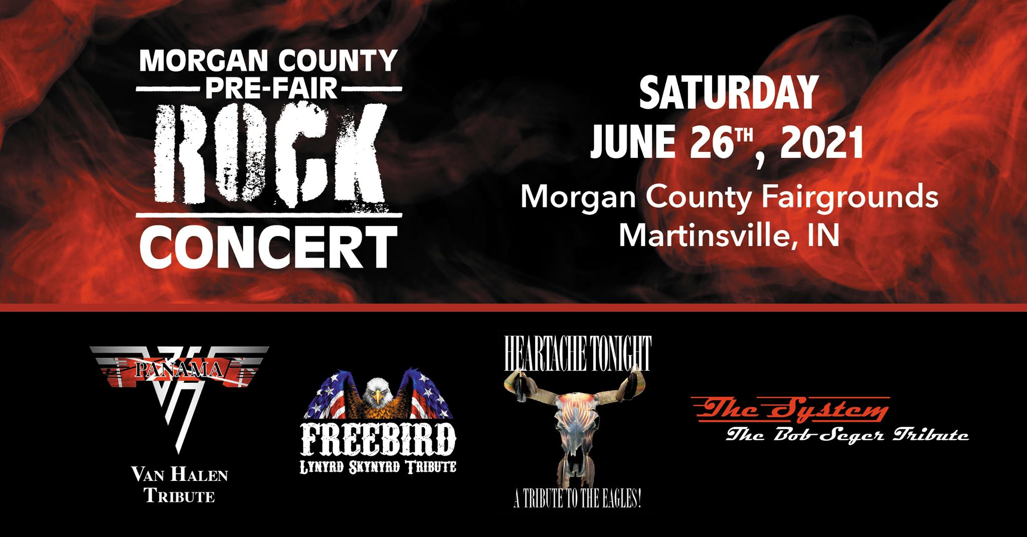 morgan county pre-fair rock concert