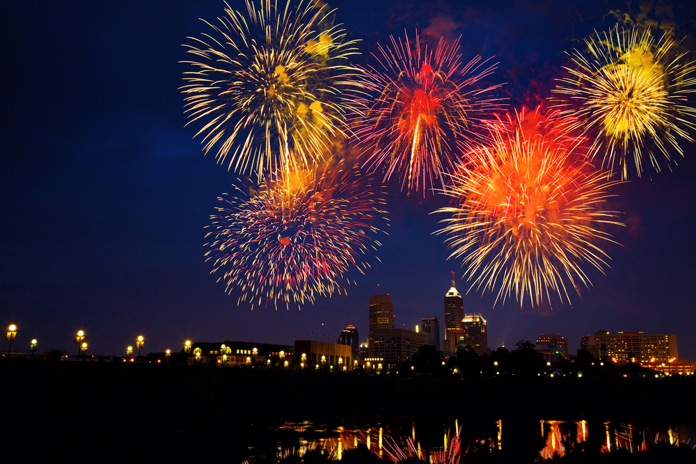 Fire Works Return To Downtown Indy For July 4th