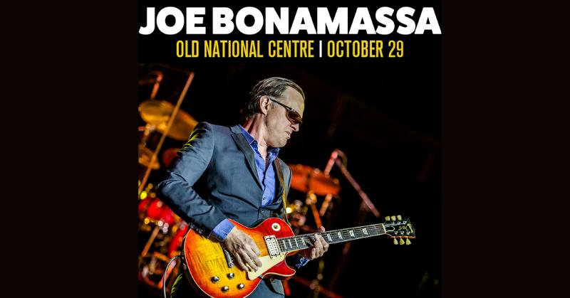 October 29 – Joe Bonamassa