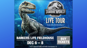 12/6 – 12/8 — Jurassic World Live Tour!