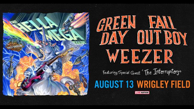 August 15 – Hella Mega Tour NEW DATE