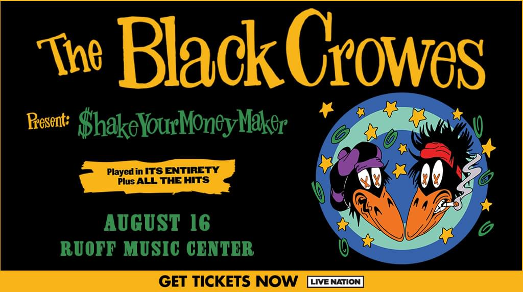 August 1 – The Black Crowes POSTPONED