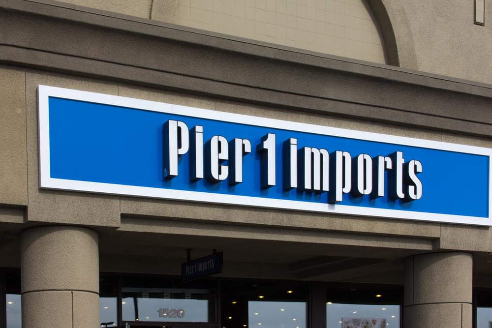 Pier 1 Imports Closing Over 400 Stores