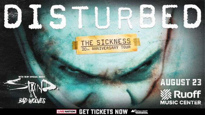Win Disturbed Tickets!