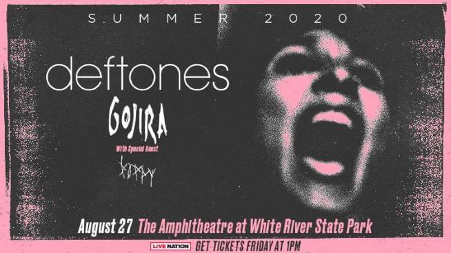 August 27 – Deftones POSTPONED