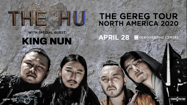 April 28 – The Hu *CANCELED*