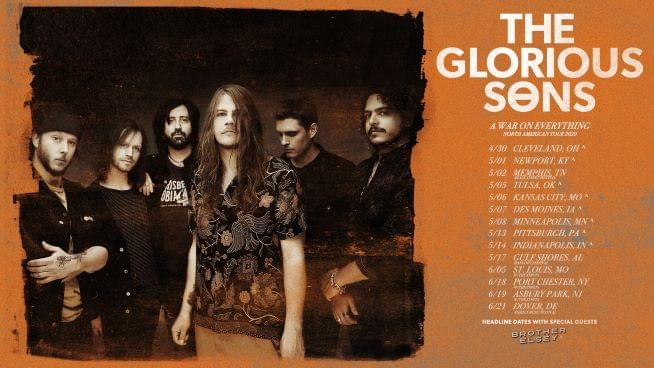 May 14 – The Glorious Sons *CANCELED*