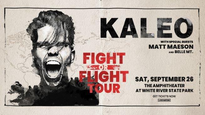 September 26 – Kaleo