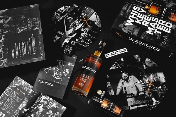 Metallica unveil limited edition 'Blackened' whiskey and vinyl box set