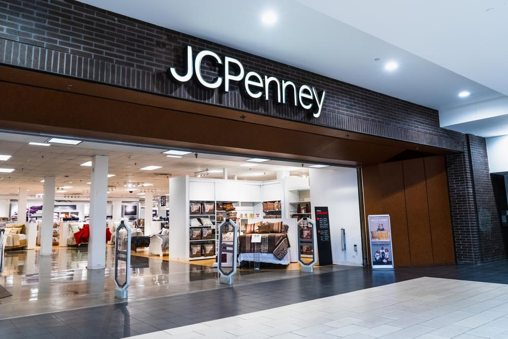 August 14, 2019 San Jose / CA / USA - JCPenney department store