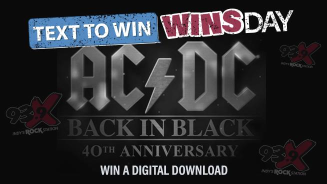 93-9 X Celebrates the monumental ACDC Album Back In Black
