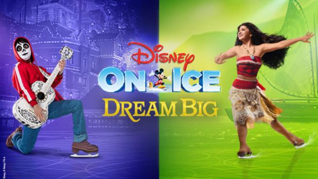 Jan 13 – Disney On Ice: Dream Big