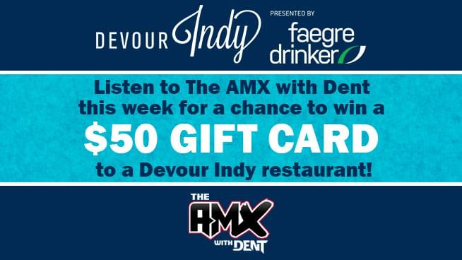 Listen To Win A Devour Indy Gift Card With Dent!