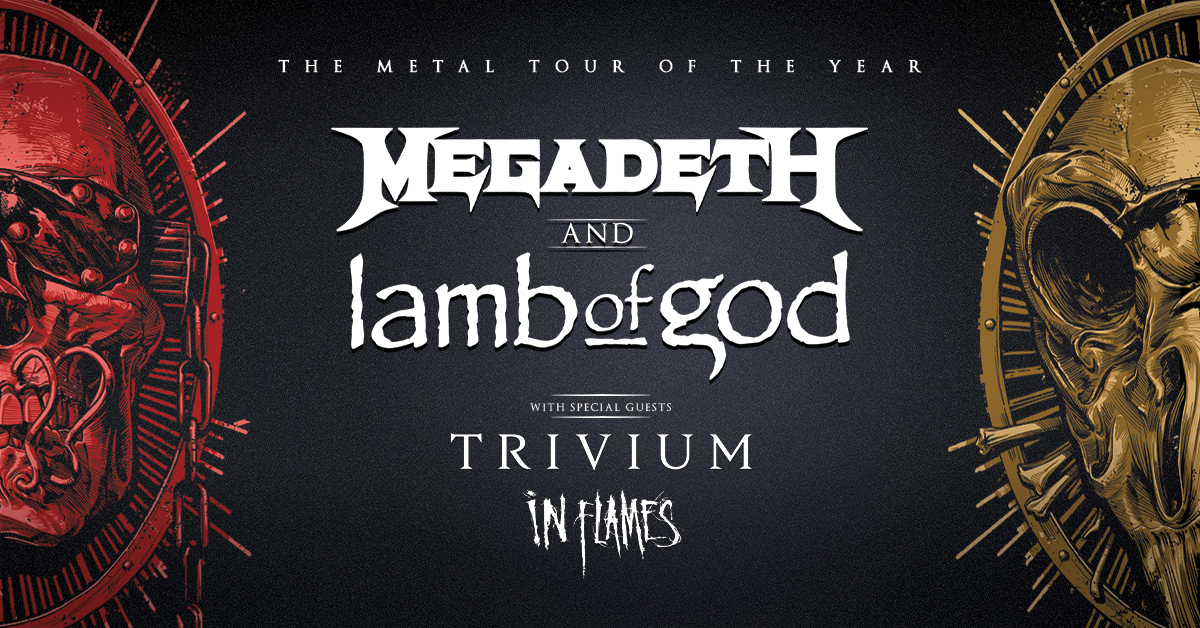 September 18 – Megadeth And Lamb Of God NEW DATE