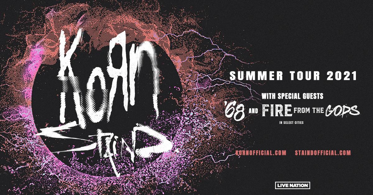August 28 – Korn & Staind