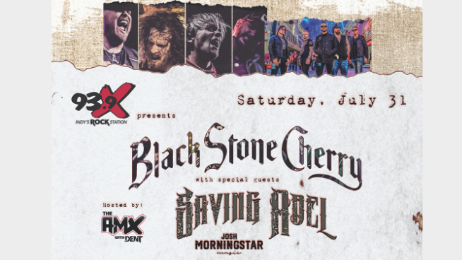July 31 – Black Stone Cherry