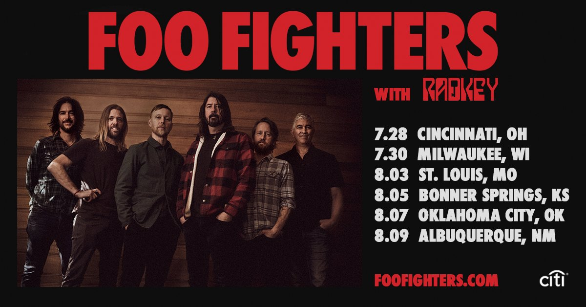July 28 – Foo Fighters