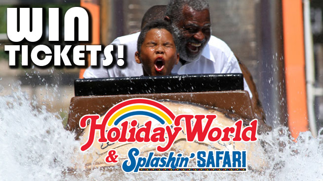Enter To Win Holiday World & Splashin' Safari Tickets