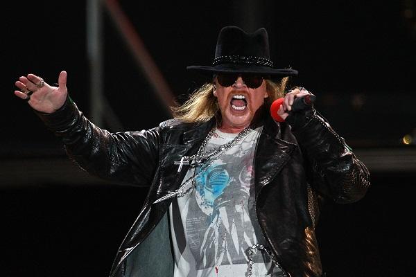Guns N' Roses Perform In Sydney