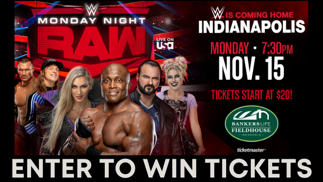 Enter To Win WWE Monday Night Raw Tickets