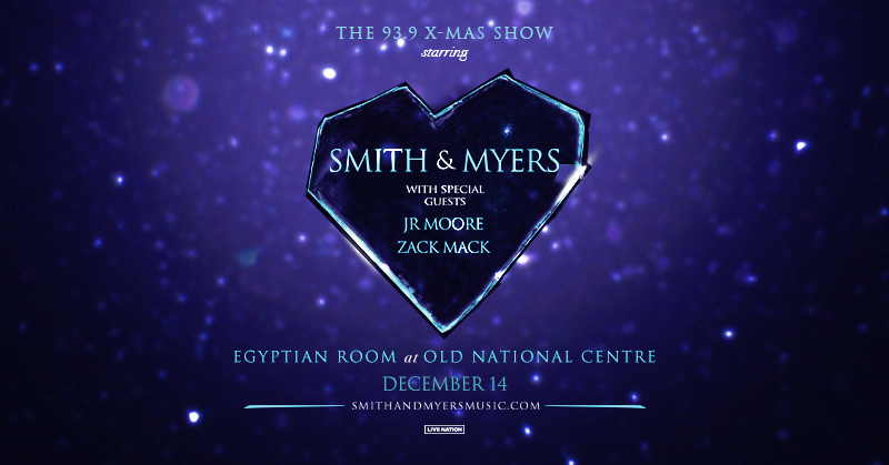 December 14 – 93.9 X-Mas Show Starring Smith & Myers