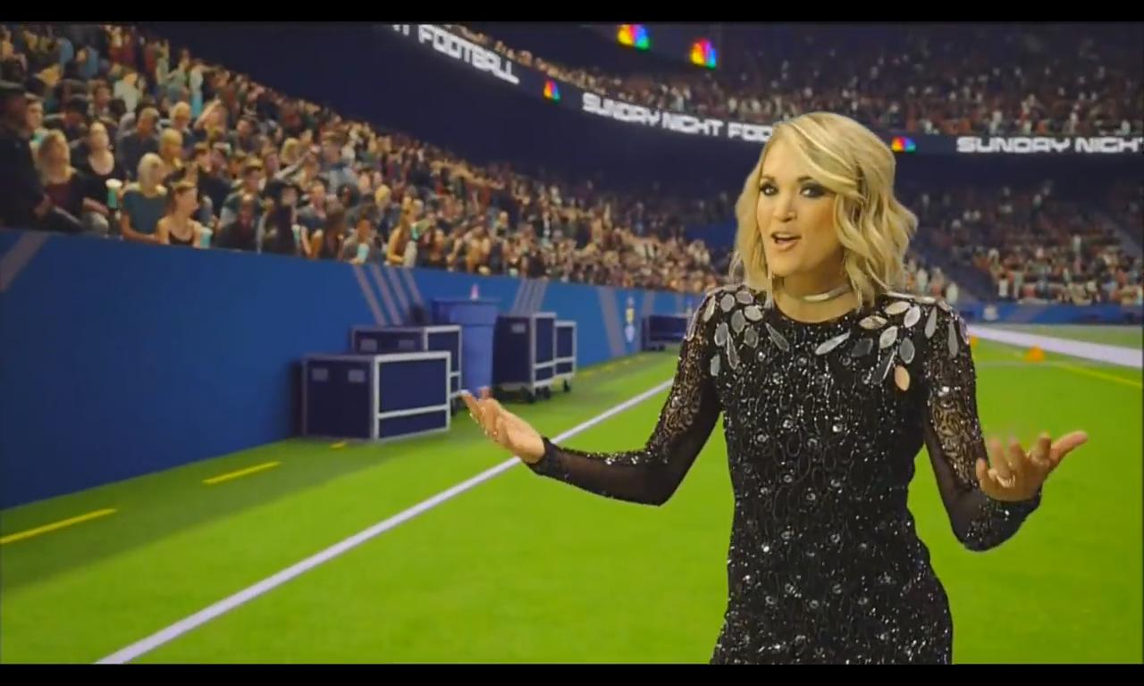 Carrie Underwood's NEW Sunday Night Football Song [VIDEO]