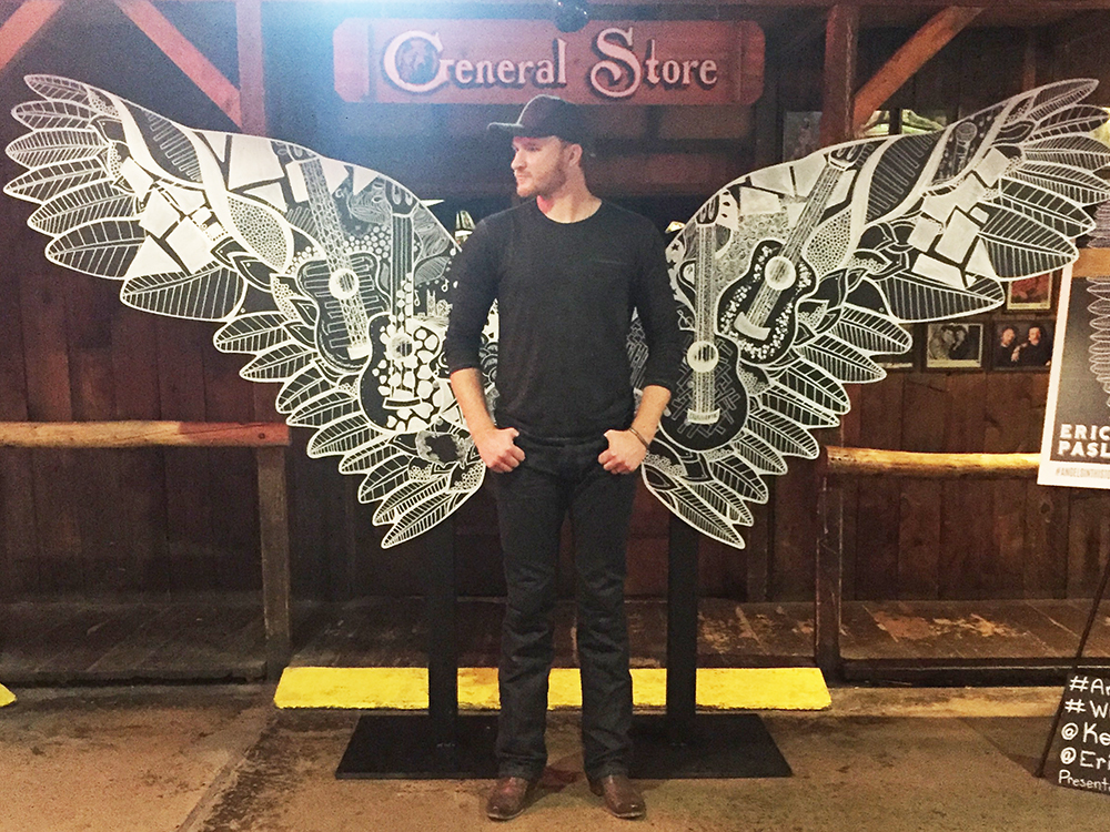 Did a Bell Ring? Because Eric Paslay Got His Wings