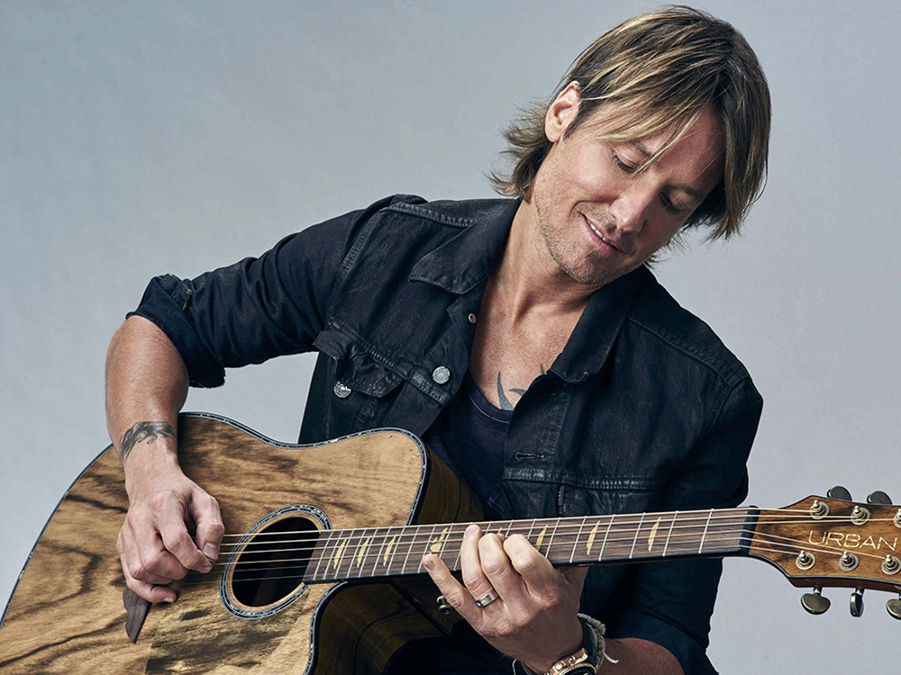 Keith Urban to Headline New Year's Eve Celebration in Nashville