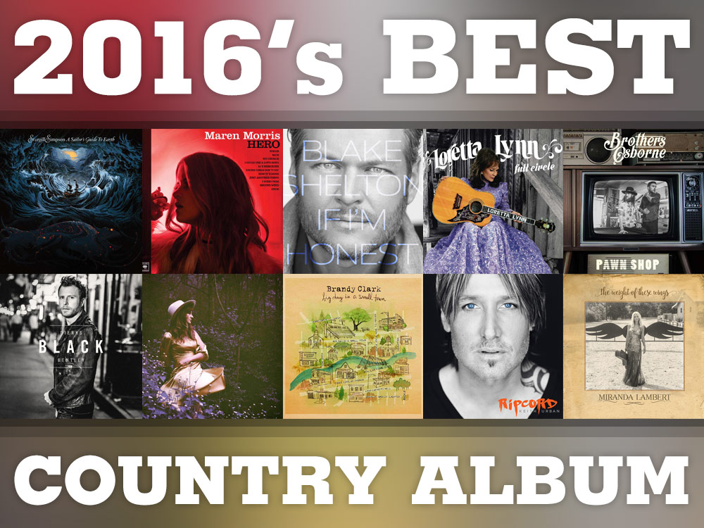 Vote Now: Best Country Album of 2016