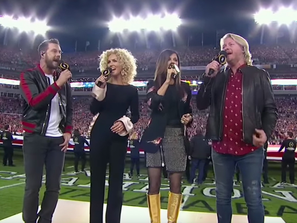 Watch Little Big Town Perform the National Anthem Before College Football Championship Game