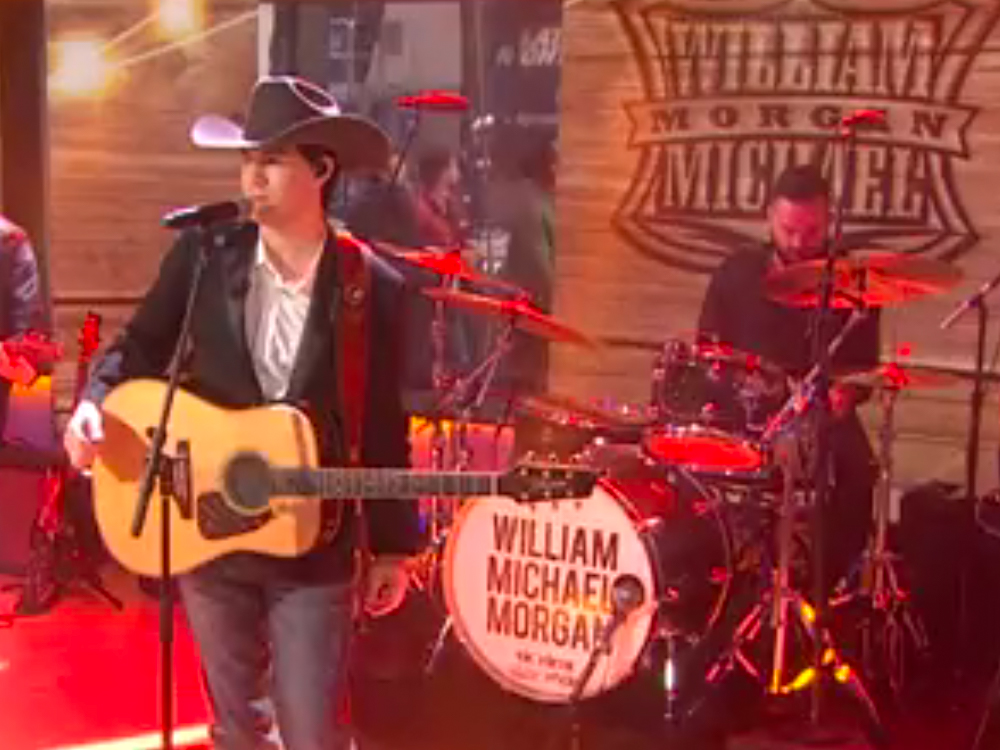 """Watch William Michael Morgan's National TV Debut as He Performs """"I Met a Girl"""" on """"Today"""""""