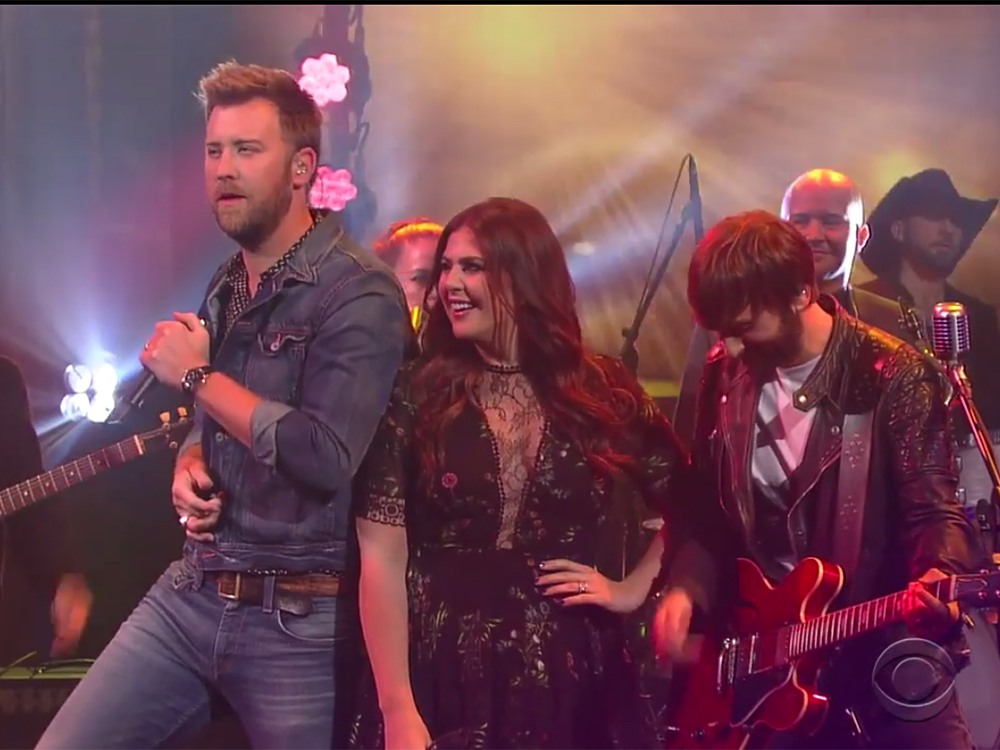"Watch Lady Antebellum's Rockin' Performance of ""You Look Good"" on ""Stephen Colbert"""