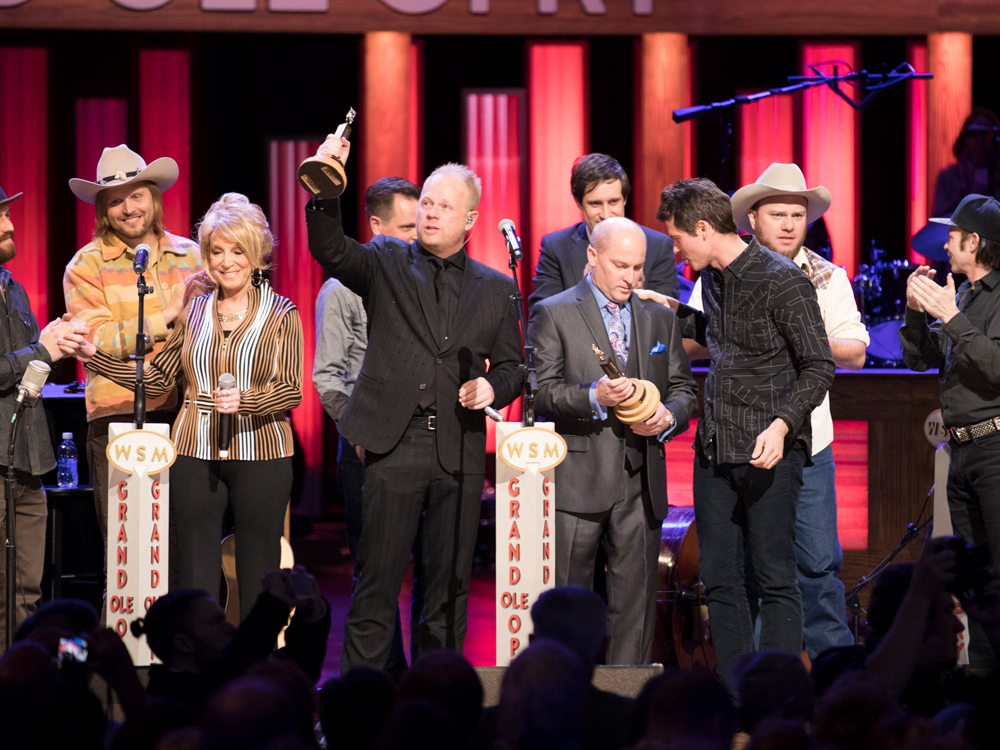 Bluegrass Duo Dailey & Vincent Inducted Into the Grand Ole Opry