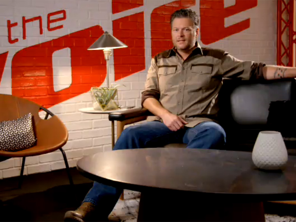 """Blake Shelton Shares the Story Behind One of His Favorite Songs, """"Savior's Shadow"""""""