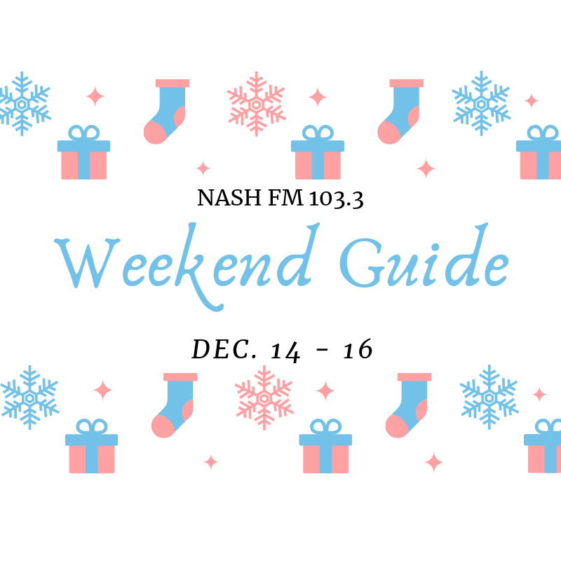 Weekend Guide: December 14 – 16