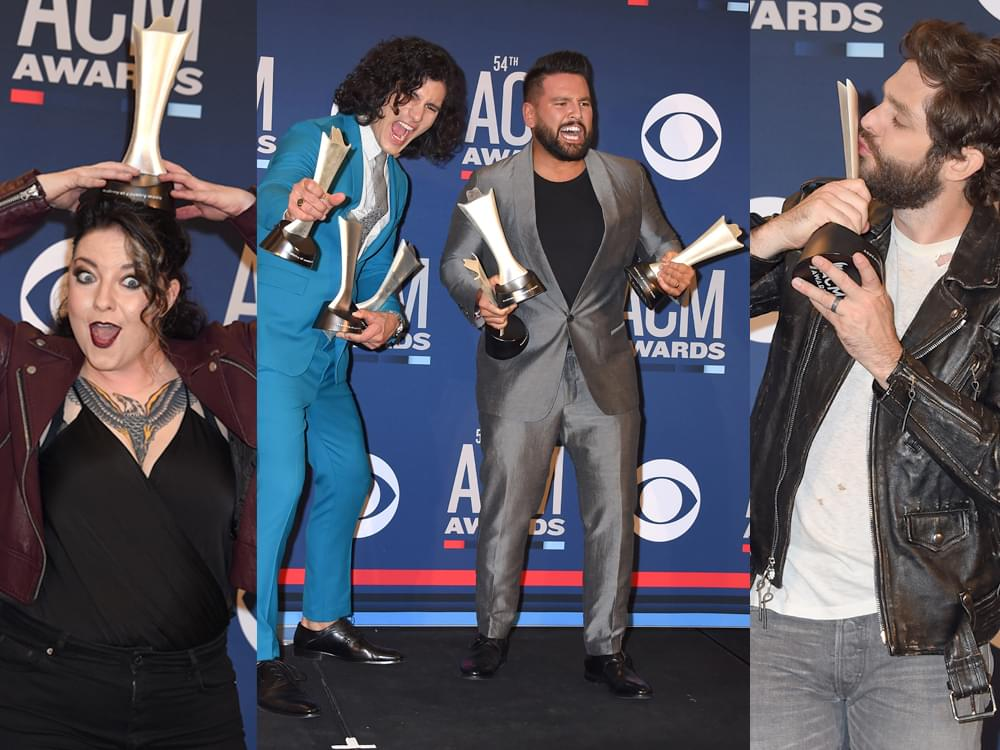 Just the Winners: ACM Award Winners With Their Trophies [Photo Gallery]