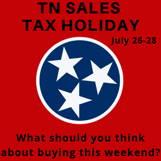 NASH Nine: Things to Buy During TN Sales Tax Holiday