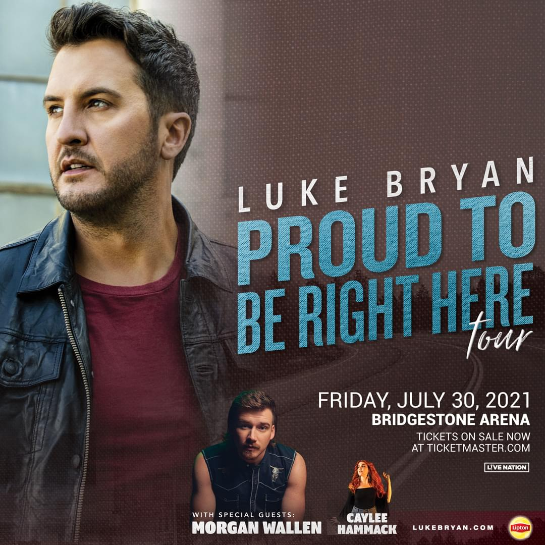 "Luke Bryan's ""Proud To Be Right Here"" Tour"