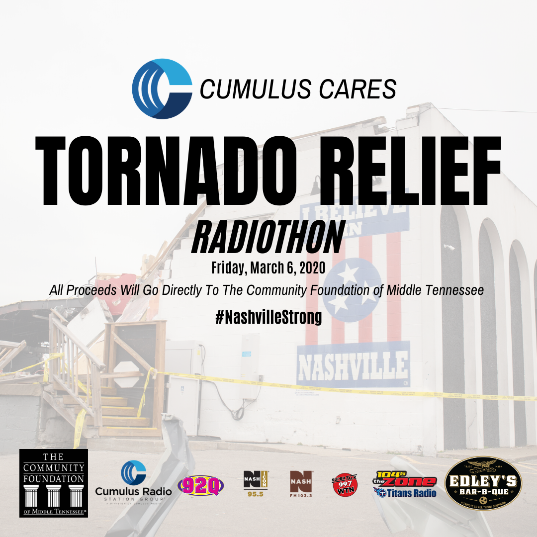 Tornado Relief Radiothon – Donate Now