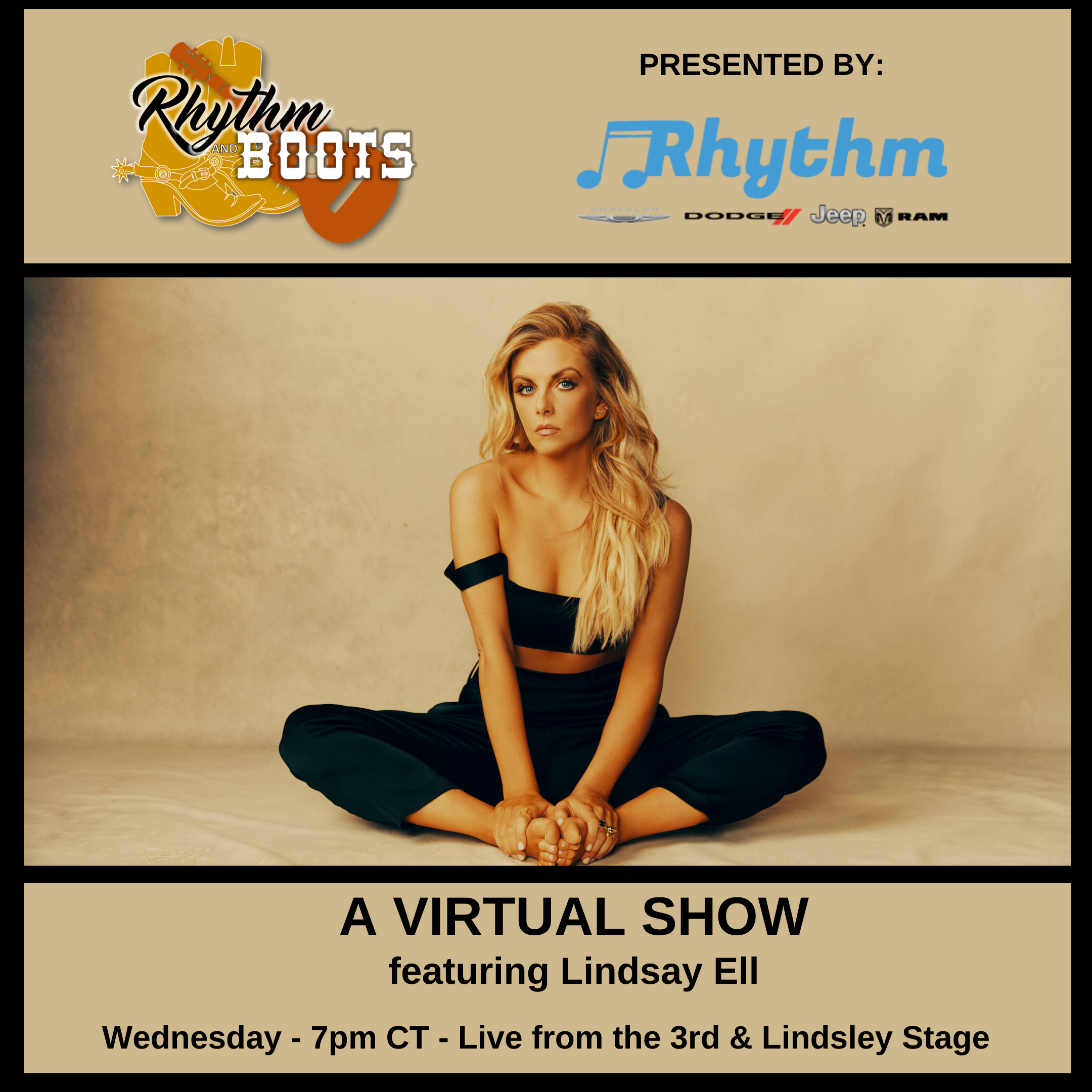 Lindsay Ell – Live Show on Facebook – Tonight!!
