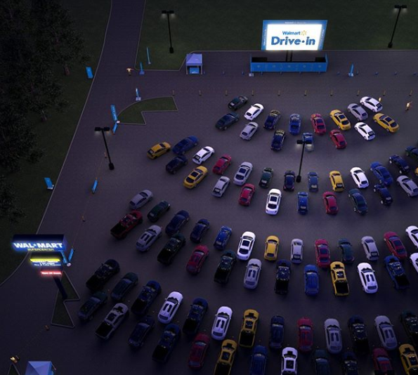 Win Tickets to the Walmart Drive-In in La Vergne!